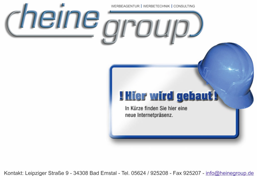HeineGroup kommt bald!
